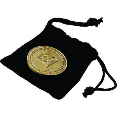 Image of Coin Clear PVC Wallets / Velvet Pouches