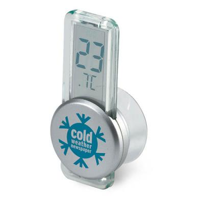 Image of LCD thermometer w/ suction cup