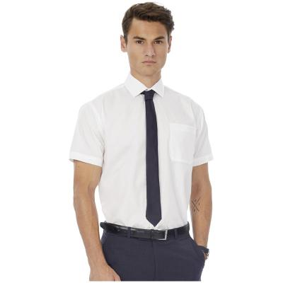 Image of B&C Men's Smart Short Sleeve Poplin Shirt