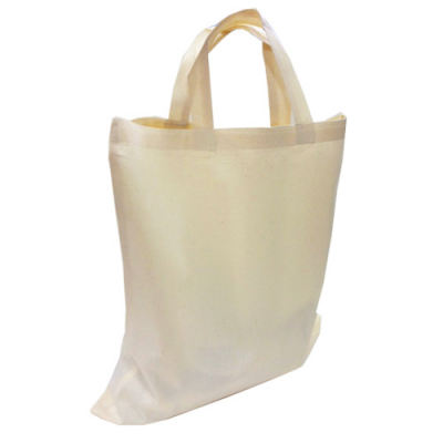 Image of 5oz Premium Cotton Shopper Bag With Short Handles