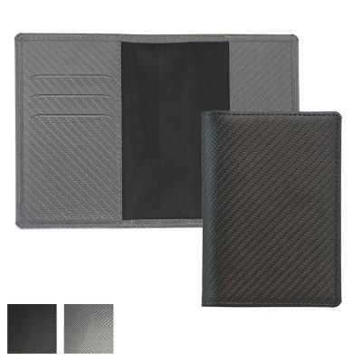 Image of Carbon Fibre Textured Passport Wallet