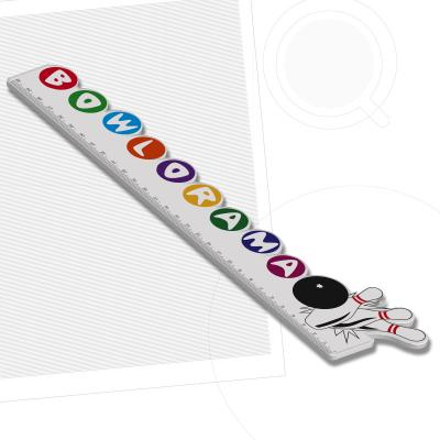 Image of Recycled Custom Shape 30cm Ruler